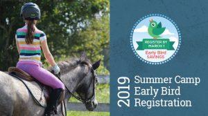Summer Camp Early Bird Registration